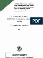 Vol 9 - Landau, Lifshitz - Statistical Physics Part 2