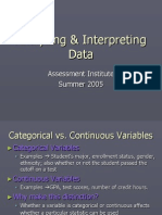 Analyzing & Interpreting Data