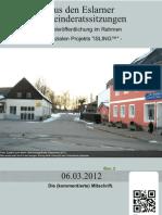 Eslarner Gemeinderatssitzungen v. 06.03.2012