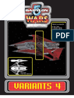 Babylon 5 Wars = Variants-4 = 52 Pgs
