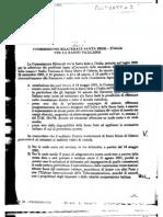 2001 - giugno 08 - Segreteria di Stato Vaticano - Verbale della Commissione Bilaterale Italia-Santa Sede