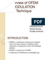 Overview of OFDM Modulation Technique