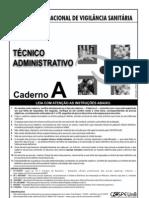 04 - Prova 01 - Anvisa - Téc. Administrativo - 23.04