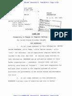 Information filing against Hector Monsegur, LulzSec leader 'Sabu'