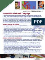 Junk mail U.S. factsheet