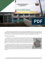 Proyecto Educativo Integral Comunitario del Liceo Bolivariano Andrés Bello. Nov 2008