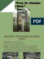 Apresentação Biblioteca IPEF