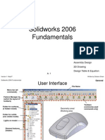 Solid Works 2006 Fundamentals