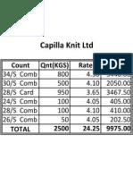 Capilla Knit Ltd