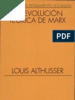 Althusser, Louis - La revolución teórica de Marx