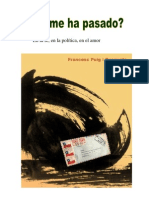 "Libro ""Que me ha Pasado"" de Francesc Puig"