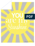 Sunshine Prints by Dimple Prints