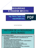 ModuloI Seguridad e Higiene Minera