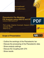 2008 Int ANSYS Conf Piezoelectric Fan Modeling Fsi Analysis