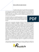 Informe FEUSACH Movimiento Social de Aysén.