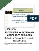 5 Inefficient Markets