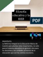 Presentación Filosofía educativa y la RIEB
