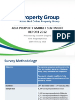 Asia Property Market Sentiment Report 2012