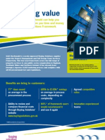 Buying Solutions Flyer
