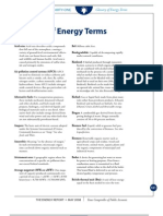 Glossary of Energy Terms