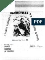 El ejercito insurrecional makhnovista en la gran revolución de octubre - Ugo Fedeli