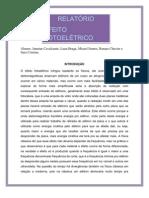 Relatório sobre efeito fotoelétrico dos alunos