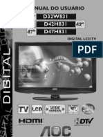 Manual Do Usuario-TV D32W831 D42 47H831