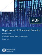 DHS Data Mining Report - Feb 2012