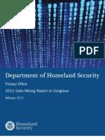 DHS Data Mining Report - Feb 2012