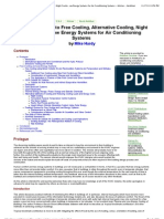 A Practical Guide to Free Cooling, Alternative Cooling, Night Cooling and Low Energy Systems for Air Conditioning Systems - Articles - Ambthair