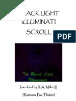 Black Light Illuminati Scroll