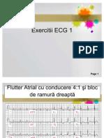 Exercitii ecg