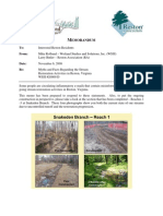 RESTON ASSOCIATION - SNAKEDEN BRANCH STREAM RESTORATION - MYTHS & FACTS