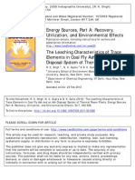 Energy Sources Part A