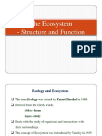 2. Eco System Definition and Concept, Structure