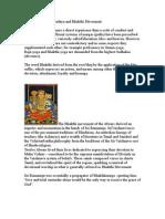 Sri Vaishnava Sampradaya and Bhakthi Movement