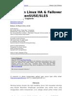 Panduan High Availability Server Menggunakan Opensuse Sles