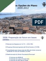 Grandes Opcoes Do Plano 2009-2012 Áreas