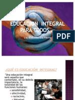Educacion Integral Curso