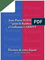 Jean-Pierre Soisson passe le flambeau à Guillaume Larrivé