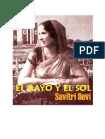 El Rayo y El Sol -Savitri Devi-