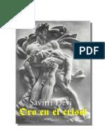 Oro en El Crisol -Savitri Devi-