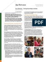 ADB-Hosted Communities of Practice - Driving Knowledge Activities