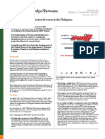 Speeding Business Application Processes in the Philippines