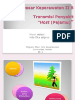 Tugas IDK II B Transmisi Penyakit Host