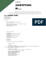 MELJUN_CORTES Encryption Program C++ Source Code