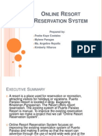 Resort Reservation System