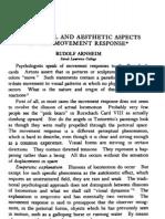 Rudolf Arnheim - Perceptual and Aesthetic Aspects of the Movement Response