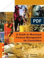A Guide to Municipal Financial Management for Councillors