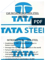 CSR at Tata Steel